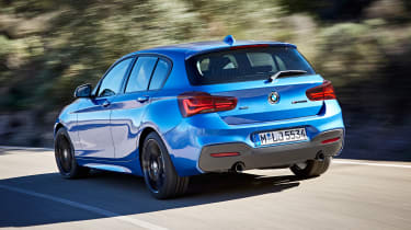 BMW 1-series hatch - rear