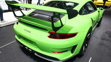 Porsche 911 GT3 RS – rear quarter