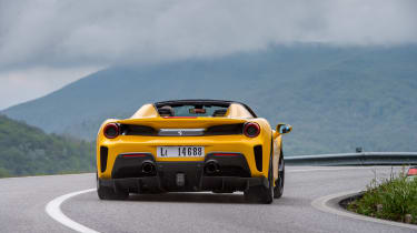 Ferrari 488 Pista Spider - rear