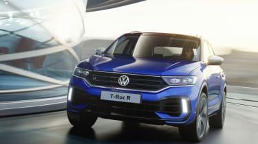 Volkswagen T-Roc R - front quarter