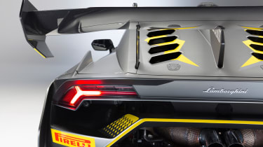 Lamborghini Huracan Super Trofeo EVO - rear wing