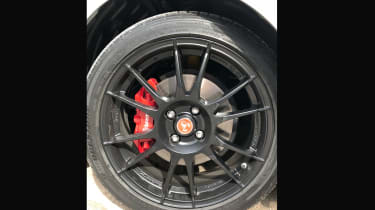 Abarth 124 GT tyres