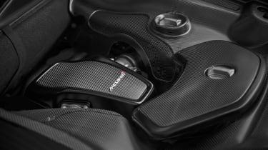 MSO McLaren 650S carbon engine bay