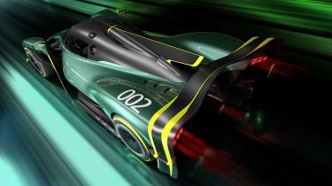 Aston Martin Valkyrie AMR Pro – rear quarter