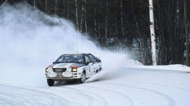 Audi Quattro - Rally