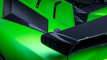 Lamborghini Aventador SVJevo – wing