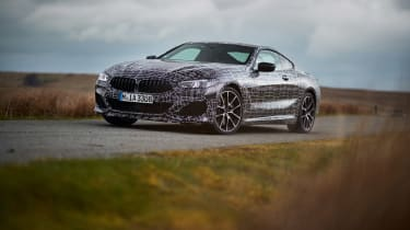 BMW 8-series prototype review - header