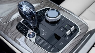 BMW X7 - centre console