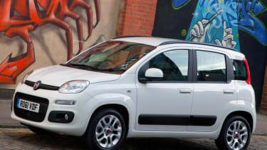 New 2012 Fiat Panda white