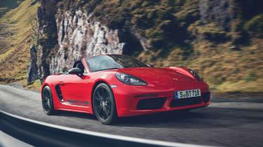 Porsche Boxster T front