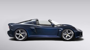 Lotus Exige S Roadster side profile