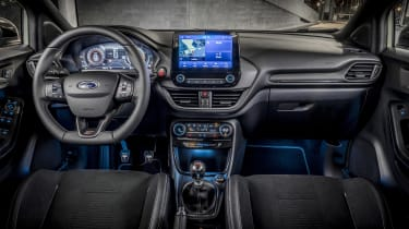 Ford Puma ST 2021 review – interior