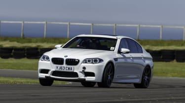 BMW M5 on track