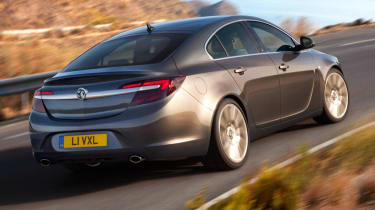 New 2013 Vauxhall Insignia rear