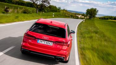 Audi S6 TDI - rear