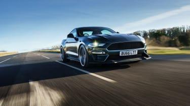 Ford Mustang Steve McQueen Bullitt Edition – front tracking