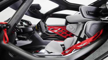 Porsche Mission R – seats