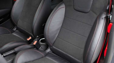 2012 Mini John Cooper Works GP Recaro front seat