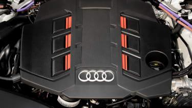 Audi S7 TDI - engine bay