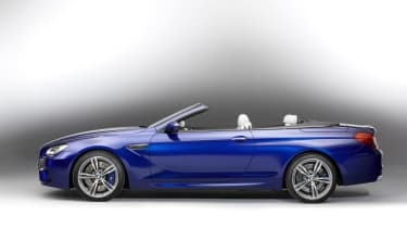 2012 BMW M6 convertible roof down