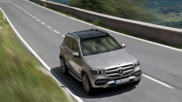 new Mercedes-Benz GLE - front
