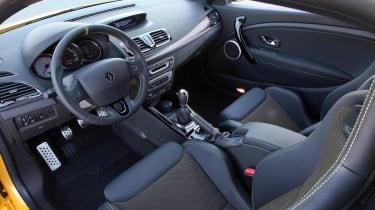 Renaultsport Megane 265 Cup interior dashboard