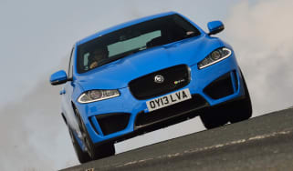 Jaguar XFR-S blue