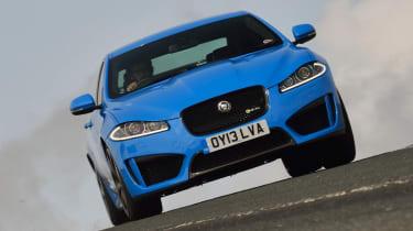 Jaguar XFR-S blue