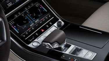 All-new Audi A8 red - dash