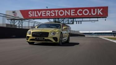 Bentley Continental GT Speed UK – front quarter