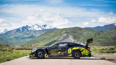 Bentley Continental GT3 Pikes Peak on loc – side