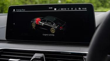 BMW M5 CS – screen