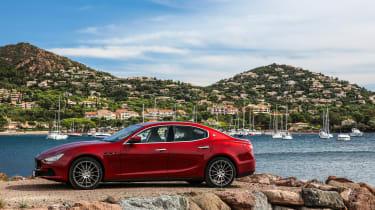 Maserati Ghibli 2016 - red front 3