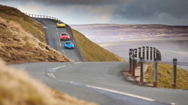 evo Supertest A110 vs rivals - distant
