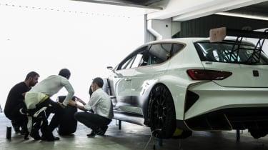 SEAT Cupra E-Racer testing