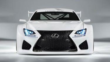 Lexus RC-F GT3 racing car front grille