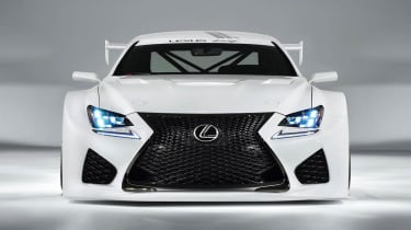 Lexus RC-F GT3 racing car front grille