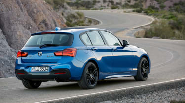 BMW 1-series hatch - rear quarter