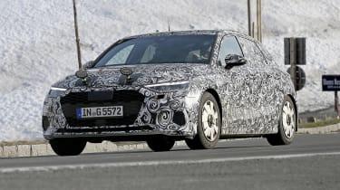 Audi A3 spy 2019 - front quarter