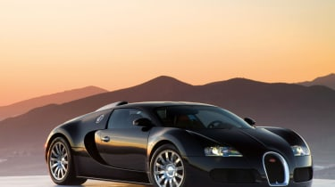 253mph Bugatti Veyron: After more than five years in development the Veyron was the first car to crack the 250mph barrier
