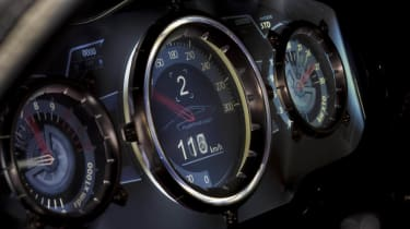 Exagon Furtive electric GT gauges