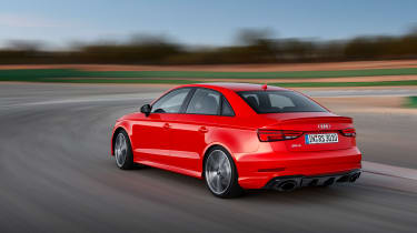 2017 Audi RS3 saloon - rear tracking