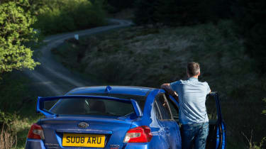 Subaru WRX STI Final Edition - moody