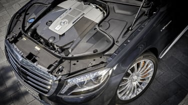 Mercedes S65 AMG engine