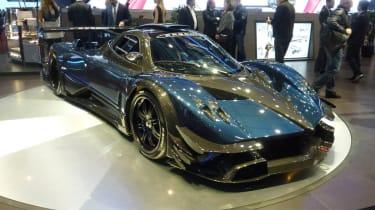 Geneva supercars: Pagani Zonda Revolucion