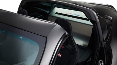 Toyota GR HV Sports Concept - roof