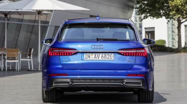 Audi A6 2018 Avant first drive - rear quarter