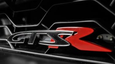 Vauxhall VXR8 GTS-R blue - UK car badge again