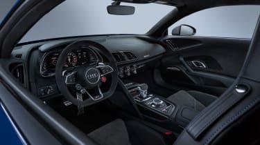 Audi R8 facelift - dash