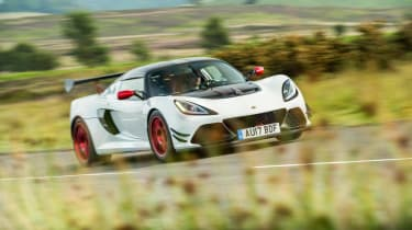 Lotus Exige 380 Cup - dynamic front quarter
